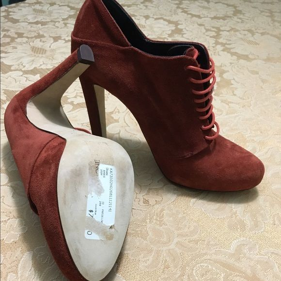 Cuoio Size 7 Shoes Women's Suede Shoes Vero N0Ovwn8my