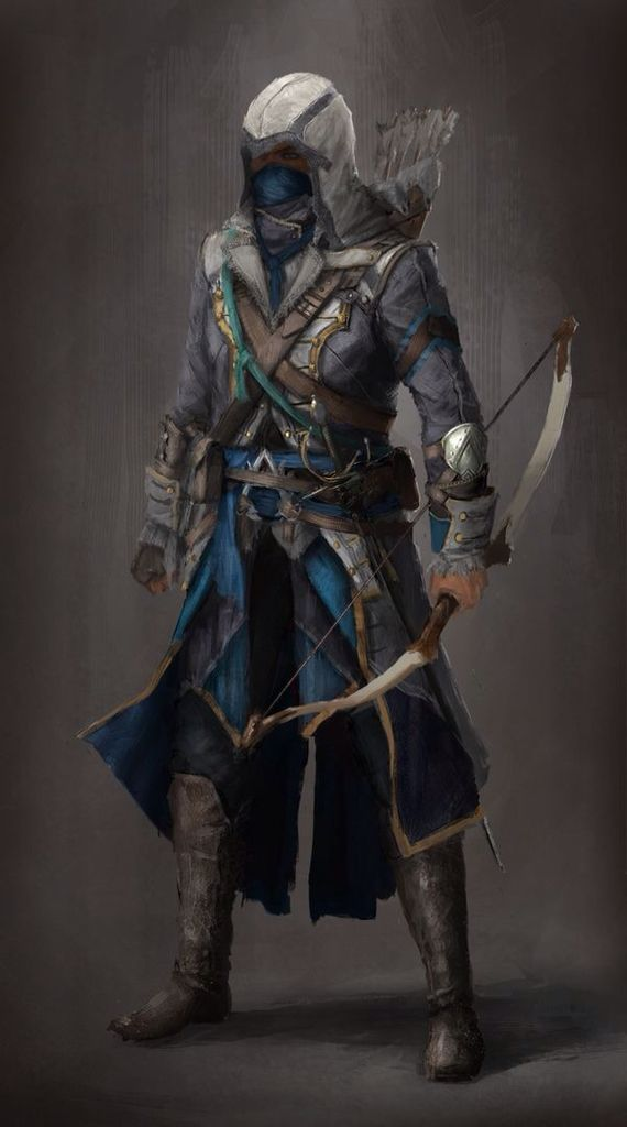Hooded hunter | Inthi'El concept | Pinterest | Assassin ...