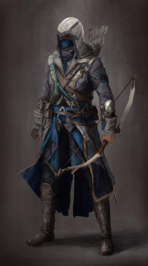 Hooded hunter | Inthi'El concept | Pinterest | Assassin ...