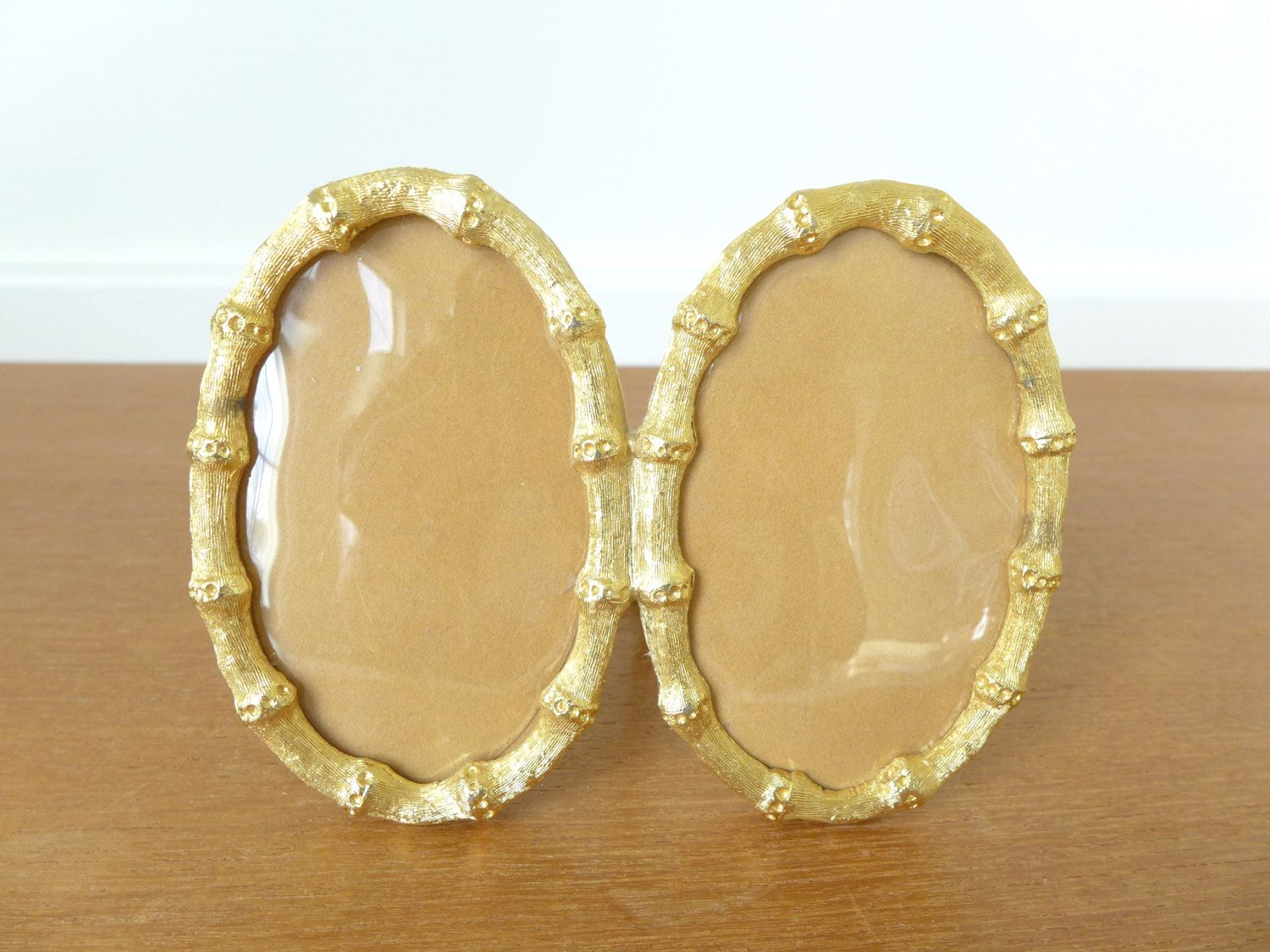 Double oval gold bamboo style picture frame pictures style double oval gold bamboo style picture frame jeuxipadfo Image collections