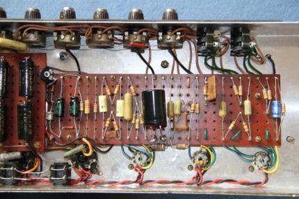 Original 1966/1967 Marshall Plexi JTM45/100 in sehr gutem