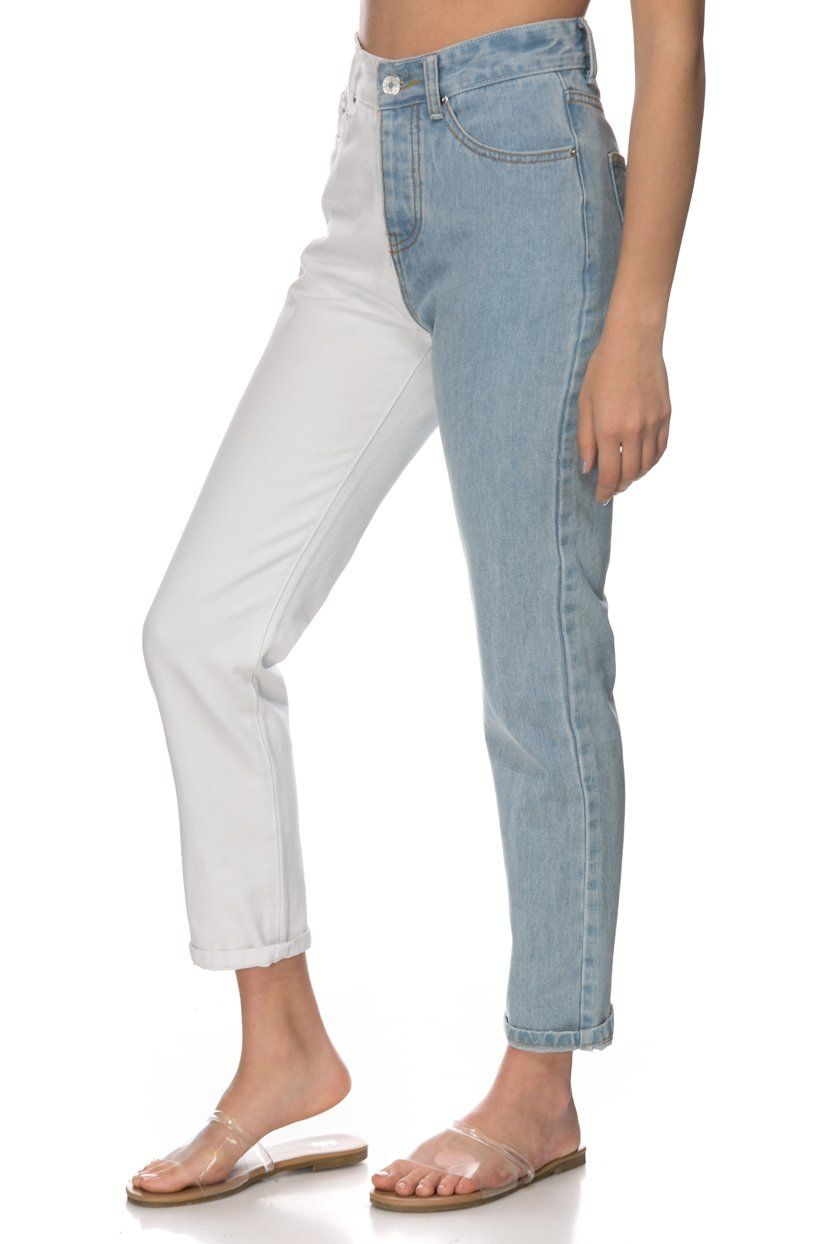Fabric Material Cotton Item Care Hand Wash Model Is Wearing S Model Measurements Height 5 4 Bust 33 Waist 24 Hips 33 S Models Mom Jeans How To Wear