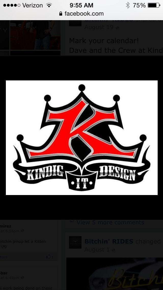 Kindig It Design Logo >> Dave Kindig Designs Muscle Cars Pinterest Cars