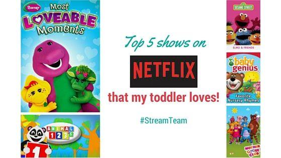 Top 5 shows on Netflix that my toddler loves | Toddler ...