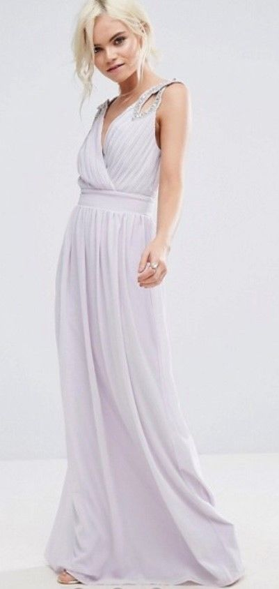 TFNC Bridesmaid Dress Lilac - Size 14 | Tfnc, Lilacs and Wedding dress