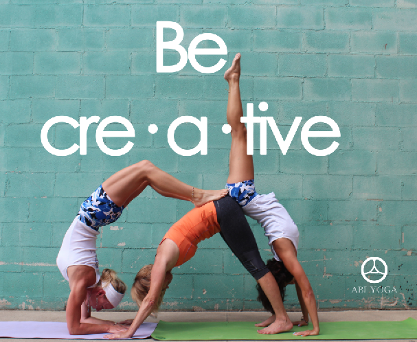 be creative cool and relatively easy three person pose acro