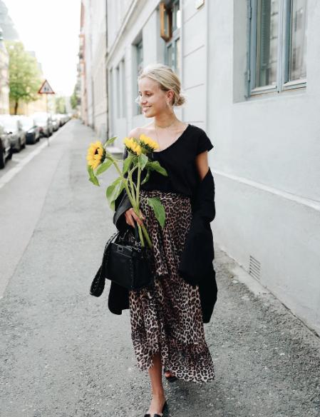 Ganni street style | Anni Jor | Peirce Mesh Skirt