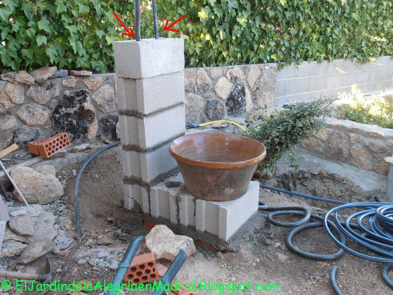 Resultado de imagen de dise o con fuentes de agua for Construir una fuente de jardin