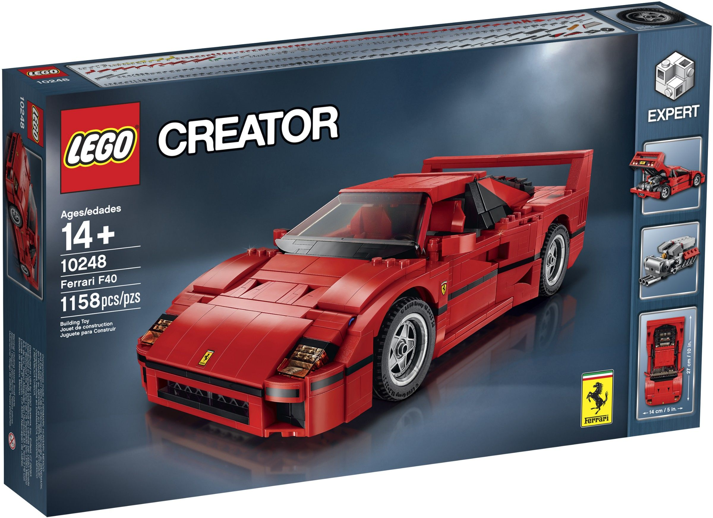 Best Sale Gift Lego 10248 Ferrari F40 10248 1158 14 2015 93 Bootlegbricks Bricks Cheapbricks Knockofflego Ferrari F40 Lego Cars Lego Creator
