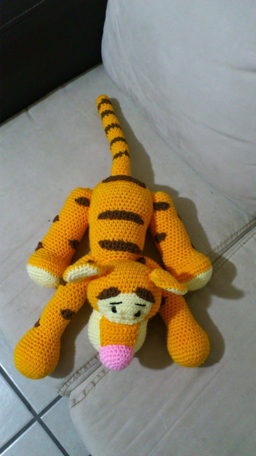 amigurumi tigger from winnie the pooh free crochet pattern ...