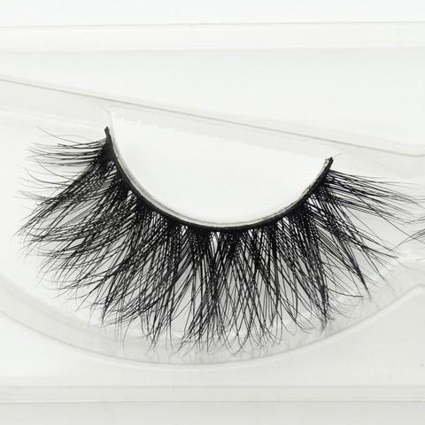 e6ee1e4ea51 visofree 1 pair 3d mink lashes wholesale 100% real mink fur Handmade  crossing lashes individual strip thick lash D22