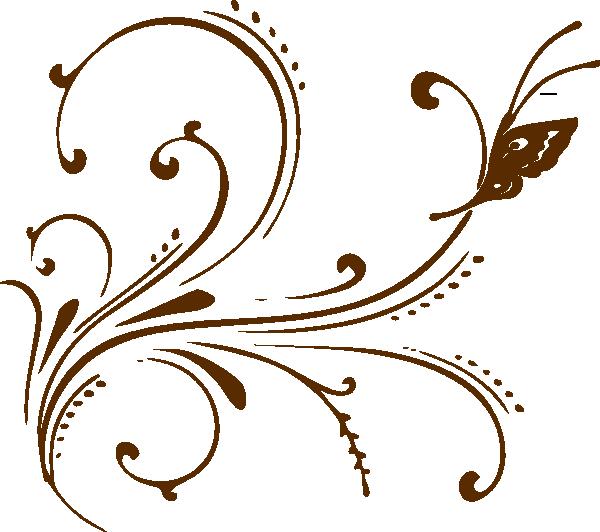decorative scrolls butterfly scroll clip art vector clip art rh pinterest co uk decorative scroll clip art Elegant Swirl Designs Clip Art