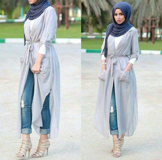 Love this hijab style my favourite looks soo beautiful and amazing love her jeans my favourite love it looks soo amazing.