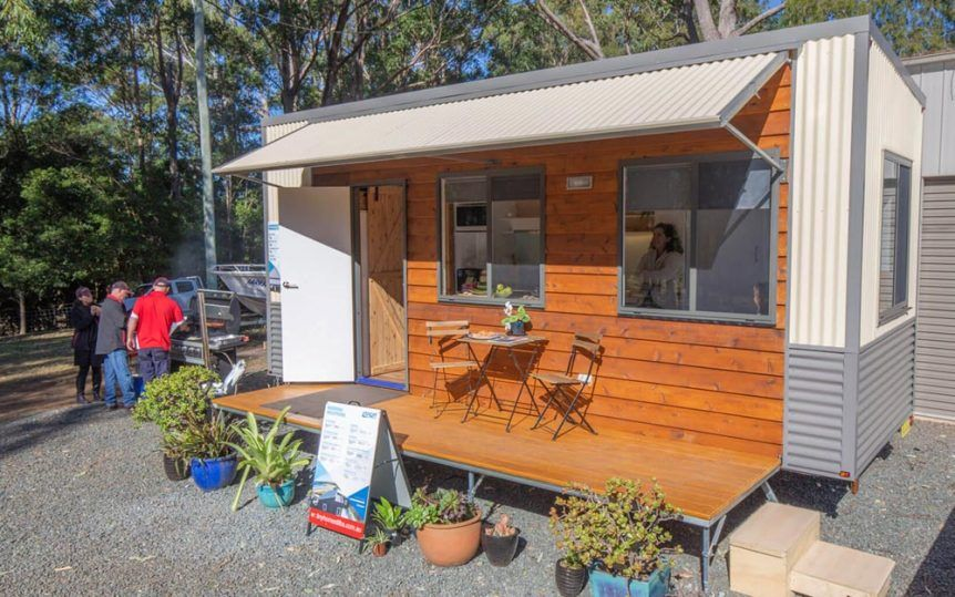 Beautiful Australian Tiny House With Murphy Bed With