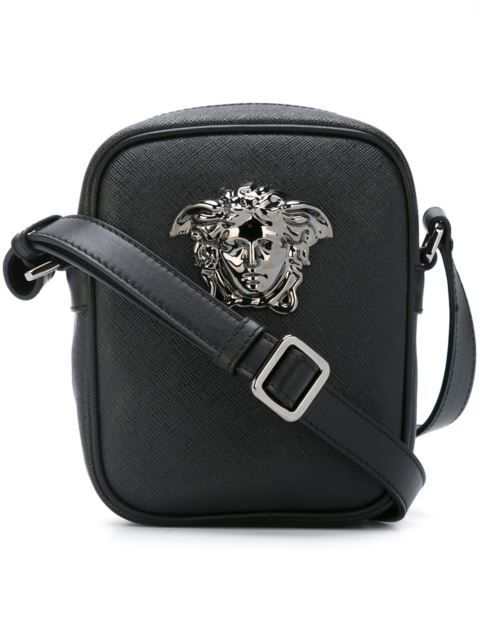 2e84fc78ca36 VERSACE Small  Palazzo Medusa  Shoulder Bag.  versace  bags  shoulder bags   pvc  cotton