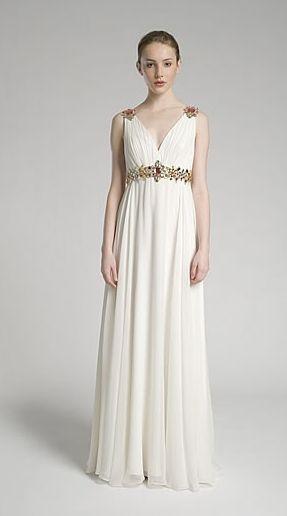 foto 2 de 20 vestidos tipo greco-romano | hispabodas | vestidos