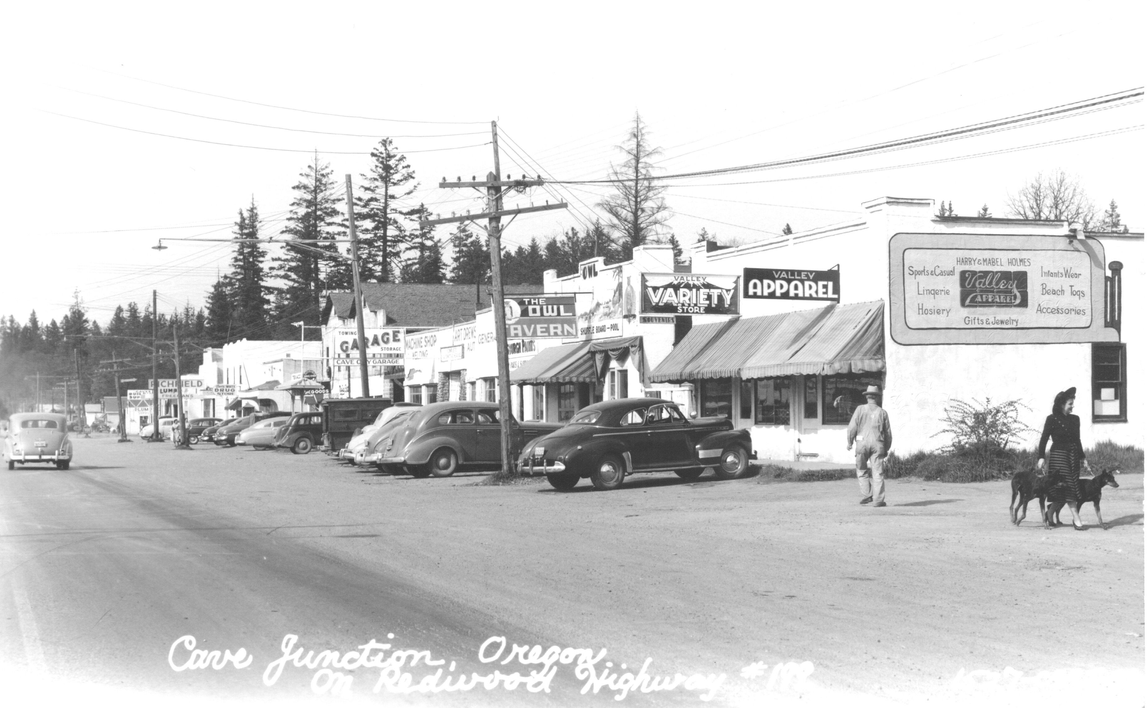 OREGON OR BUST 1930s PHOTO