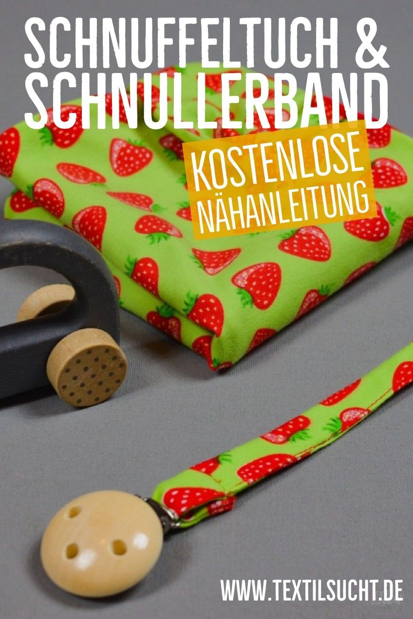 Photo of Kostenlose Nähanleitung: Schnullerstoff & Schnullerband