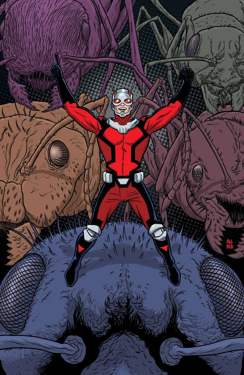 """Astonishing Ant-Man 1"" first look"