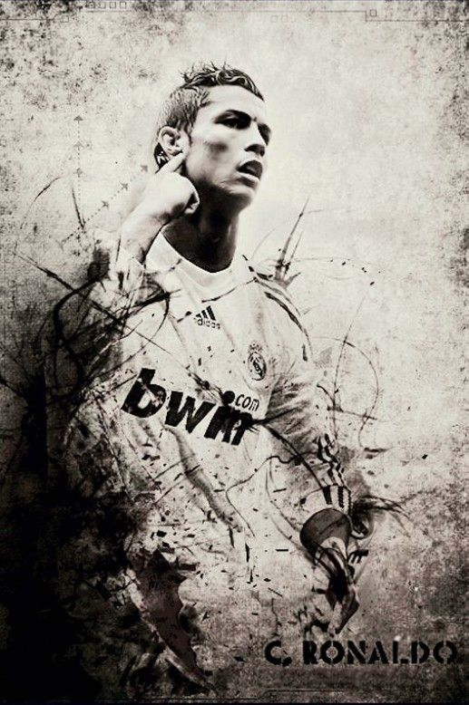Cristiano Ronaldo CR Silk Canvas Poster modern Decor Soccer Football Printings Large for living room 11