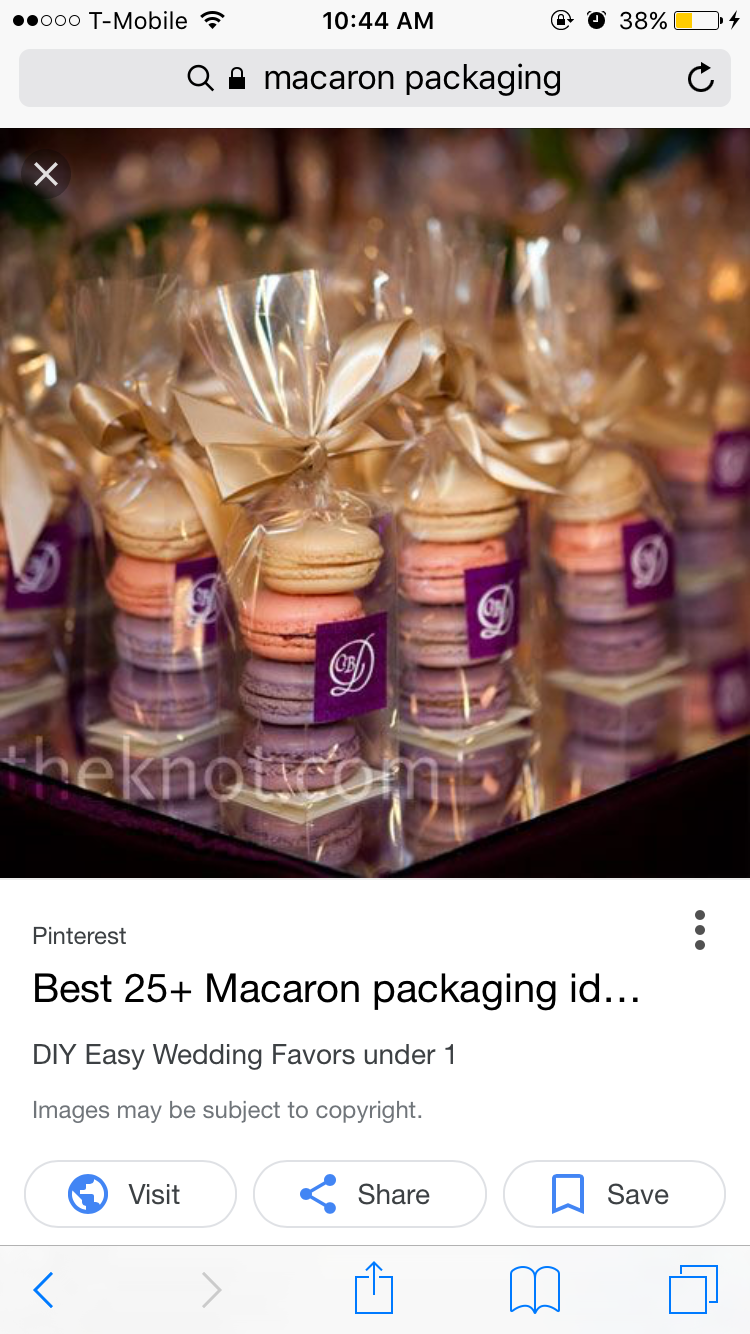 Pin By Olivia Perrette On Packaging Ideas Christmas Baking Gifts Macaron Packaging Happy Birthday Donut