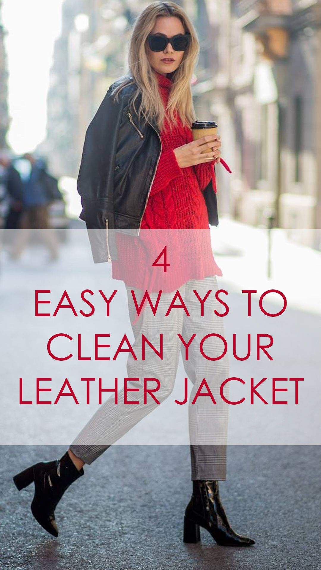 Four different ways to clean your leather jacket leather