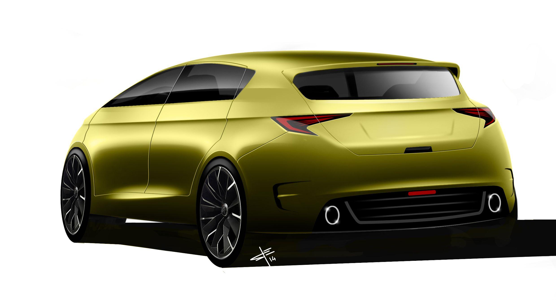 Lexus Mpv Back