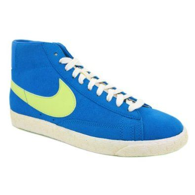 Nike Blazer High Vntg Womens Laced Canvas or Suede Trainers: Amazon.co.uk