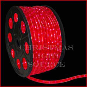 1 2 Inch Red Led Rope Light 150 Foot Spool Rope Light Led Rope Lights Red Led