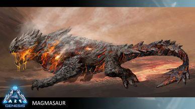 Magmasaur Official ARK Survival Evolved Wiki Ark