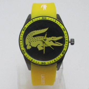 Reproduction Montre Lacoste - Jaune   Bijoux   Montres   Pinterest ... c0f24bb2ebd7