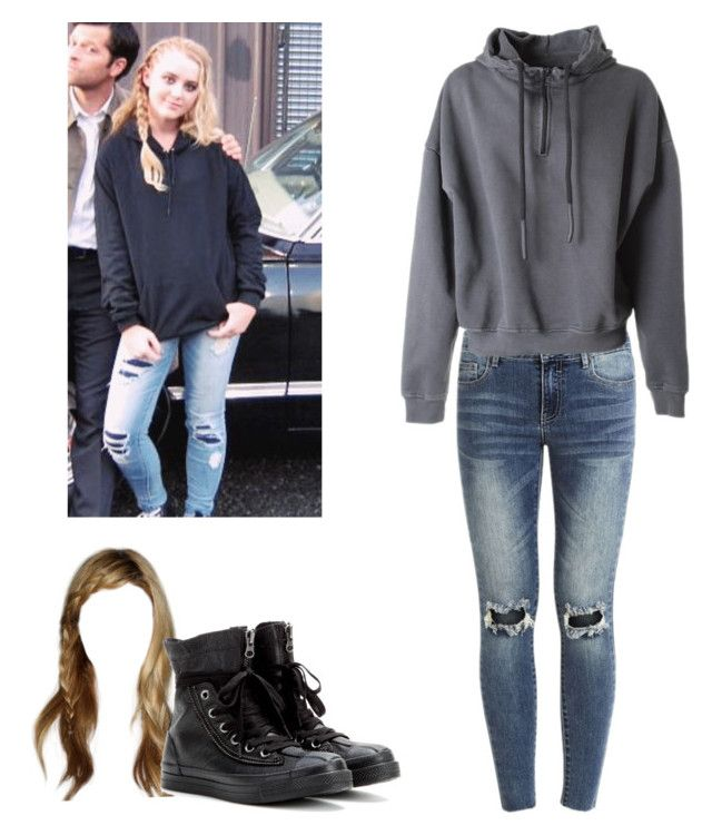 3e3480a8680 Claire Novak - spn / supernatural by shadyannon on Polyvore featuring  polyvore fashion style adidas Originals VILA Converse clothing