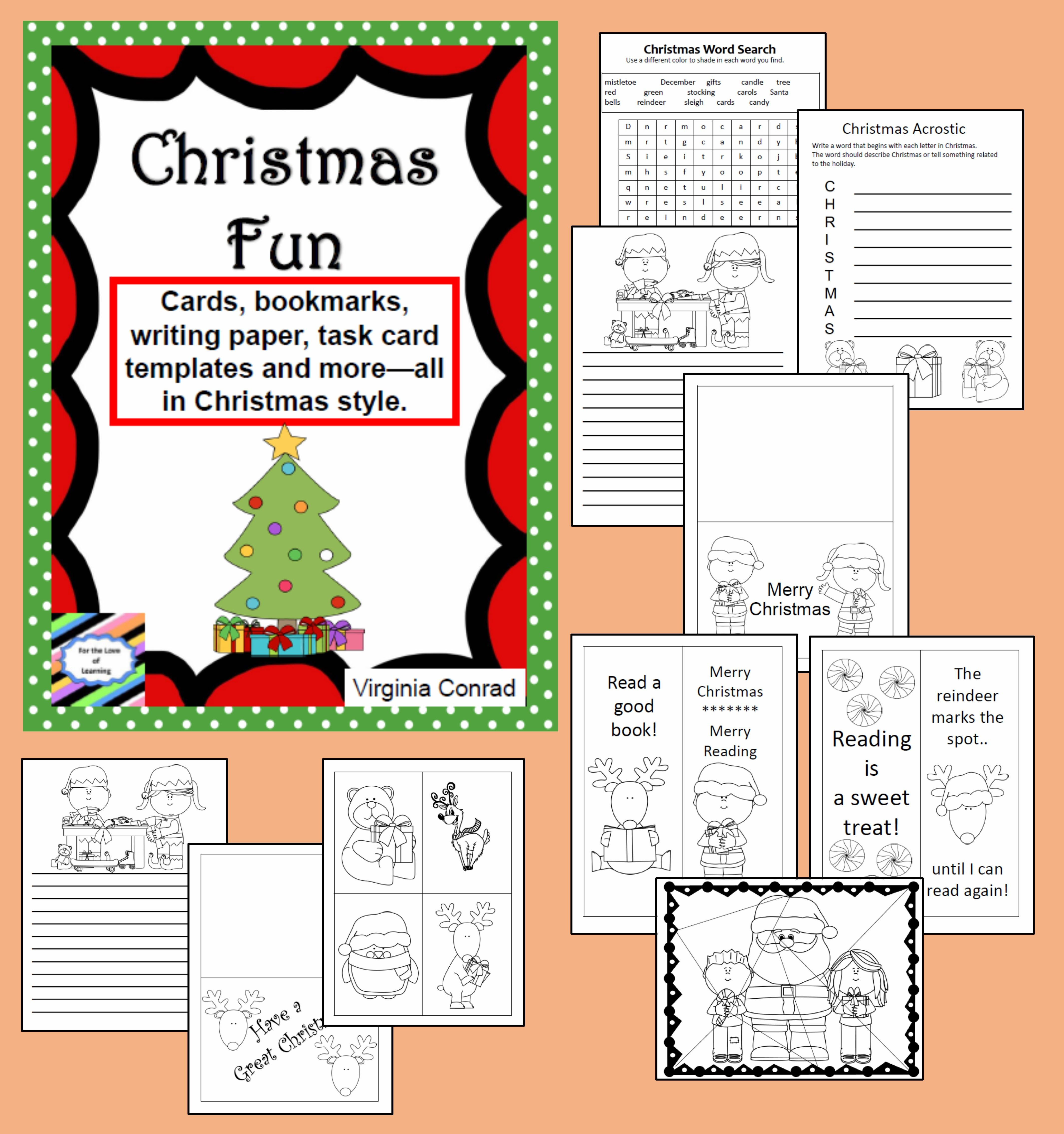 Christmas Printables Just For Fun