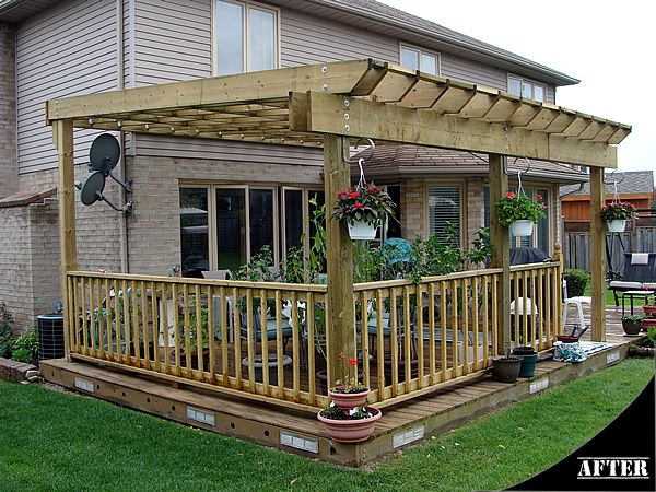 Pin By Holly Woolley On Outdoor Inspiration Deck With Pergola Deck Design Pergola