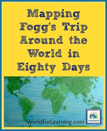 Mapping Fogg\'s Trip Around the World in Eighty Days | Ge-og-ra-phy ...