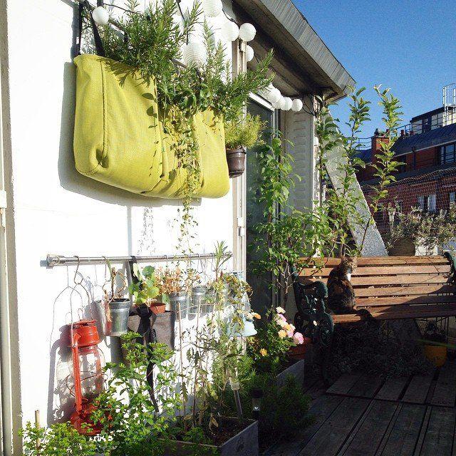 Balconniere En Batyline 25 Litres Jardiniere Accrochee 3