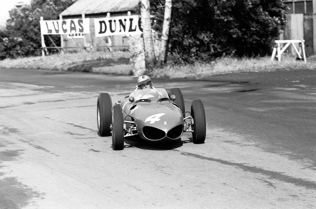 dbslrt:  Wolfgang Von Trips, Ferrari 156, Aintree 1961