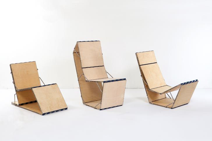 Loop: Multifunctional Piece of Furniture Transforms Into a Chair, Chaise, Bookshelf or Table Boaz Mendel's multifunctional furniture Loop – Inhabitat - Sustainable Design Innovation, Eco Architecture, Green Building