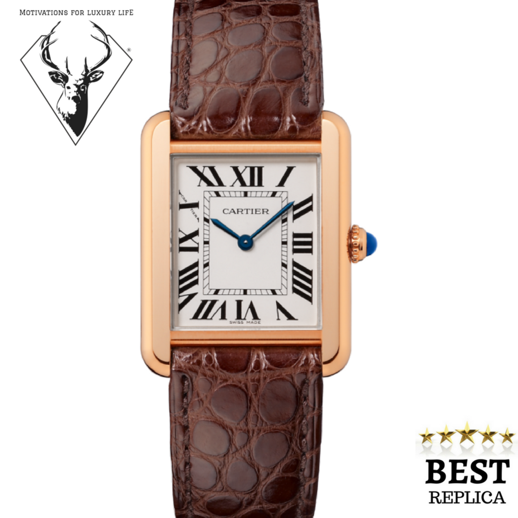 d3889205f73 Cartier Tank Solo Pink Gold Small Model W5200024 Chicago Dealer Marshall  Pierce