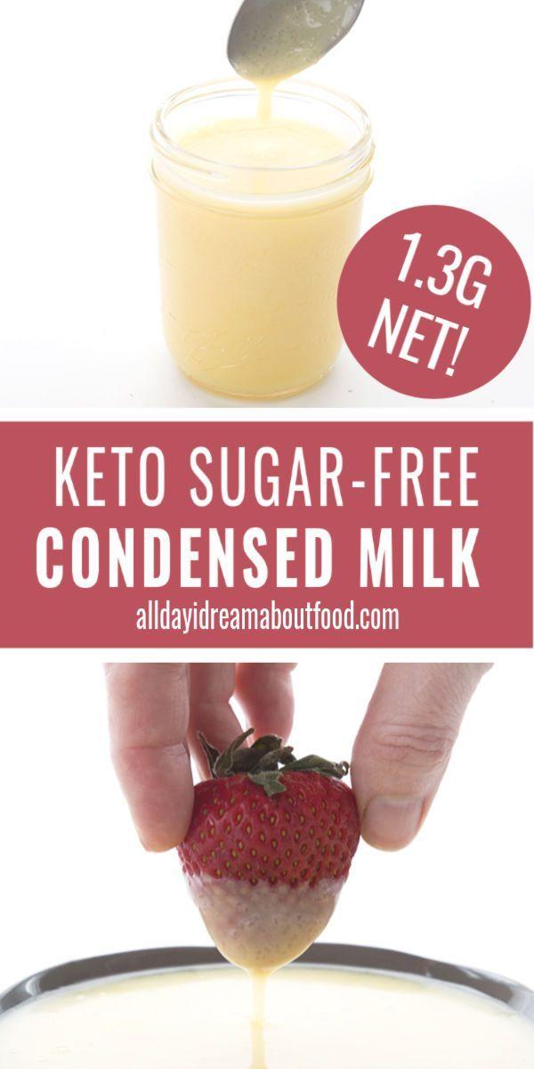 Keto Condensed Milk in 2020 | Sugar free condensed milk ...