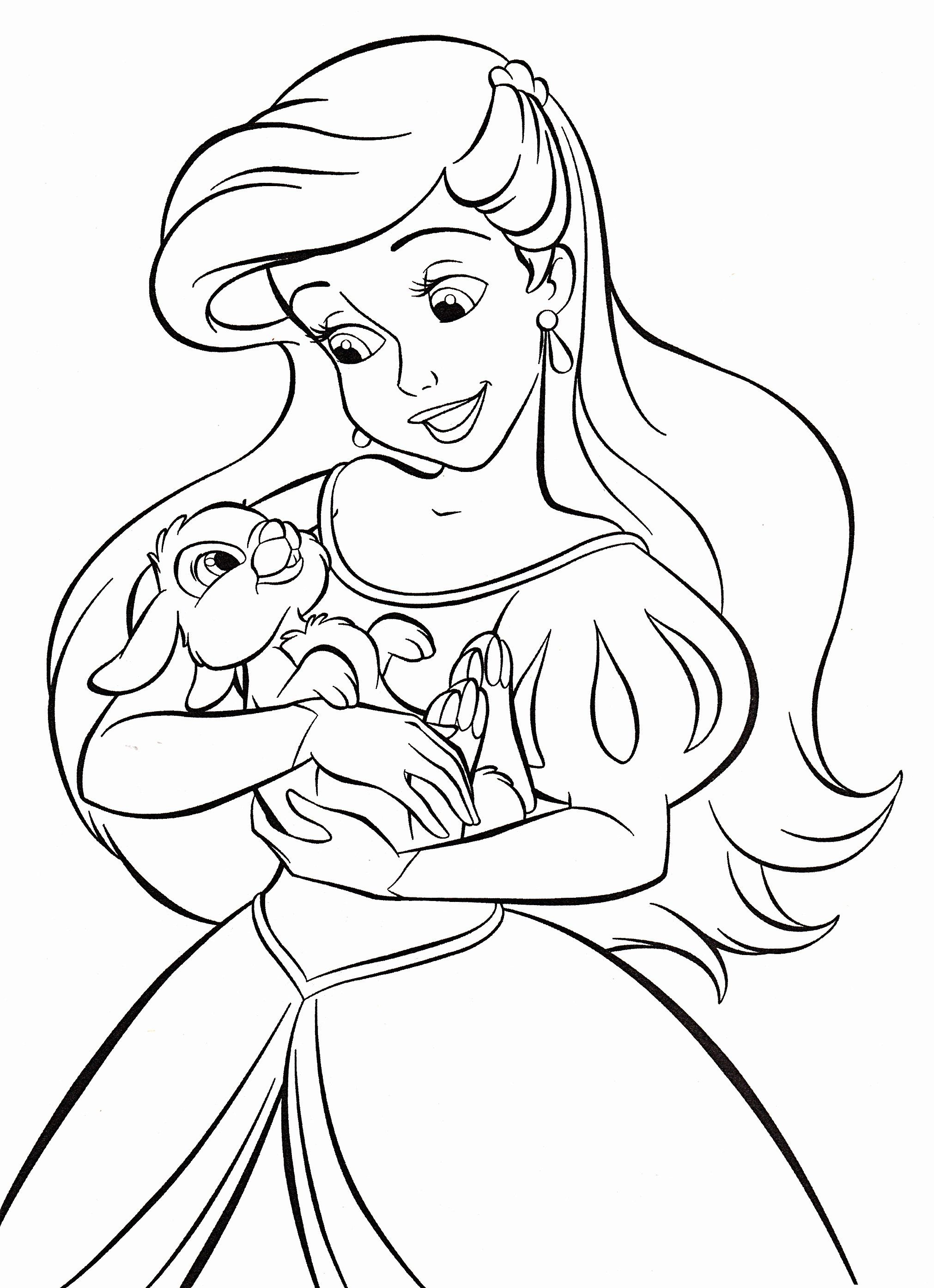 Coloring Pictures Of Disney Princesses Luxury Walt Disney Coloring