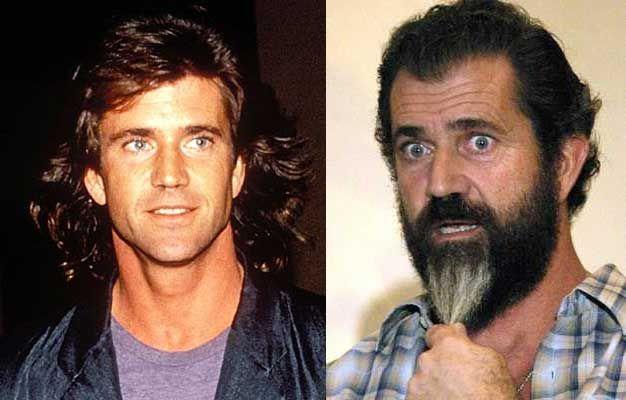 Mel Gibson | Celebrities then and now, Actors then and now, Celebrities  before and after