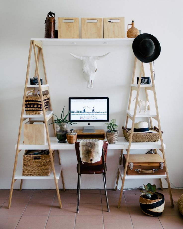 workspace diy and inspiration diy bureau home office space home office design home