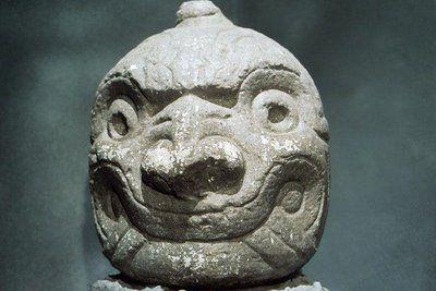 cabeza clava de Chavin de Huantar