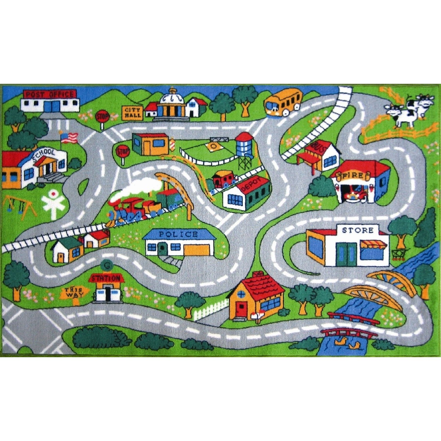 playroom x kids color map educational kc game rugs children learning and road area p ft multi colored cubs bedroom rug