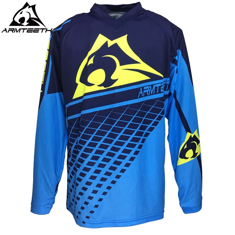 179ce9adf01 2018 Armteeth Motocross Jersey T Shirts Motorcycle Bicycle Cycling Jersey  Sweatshirt MTB DH MX Downhill Jersey. Yesterday s price  US  34.98 (28.78  EUR).