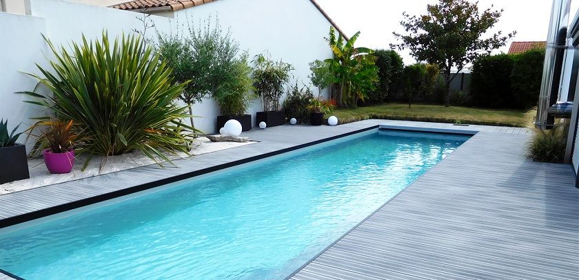 liner gris clair Piscina Pinterest Beautiful pools, Pool