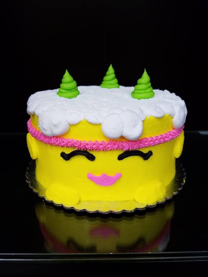 Shopkins Buttercream Cake Design Designs Bday Character Cakes Baking Ideas