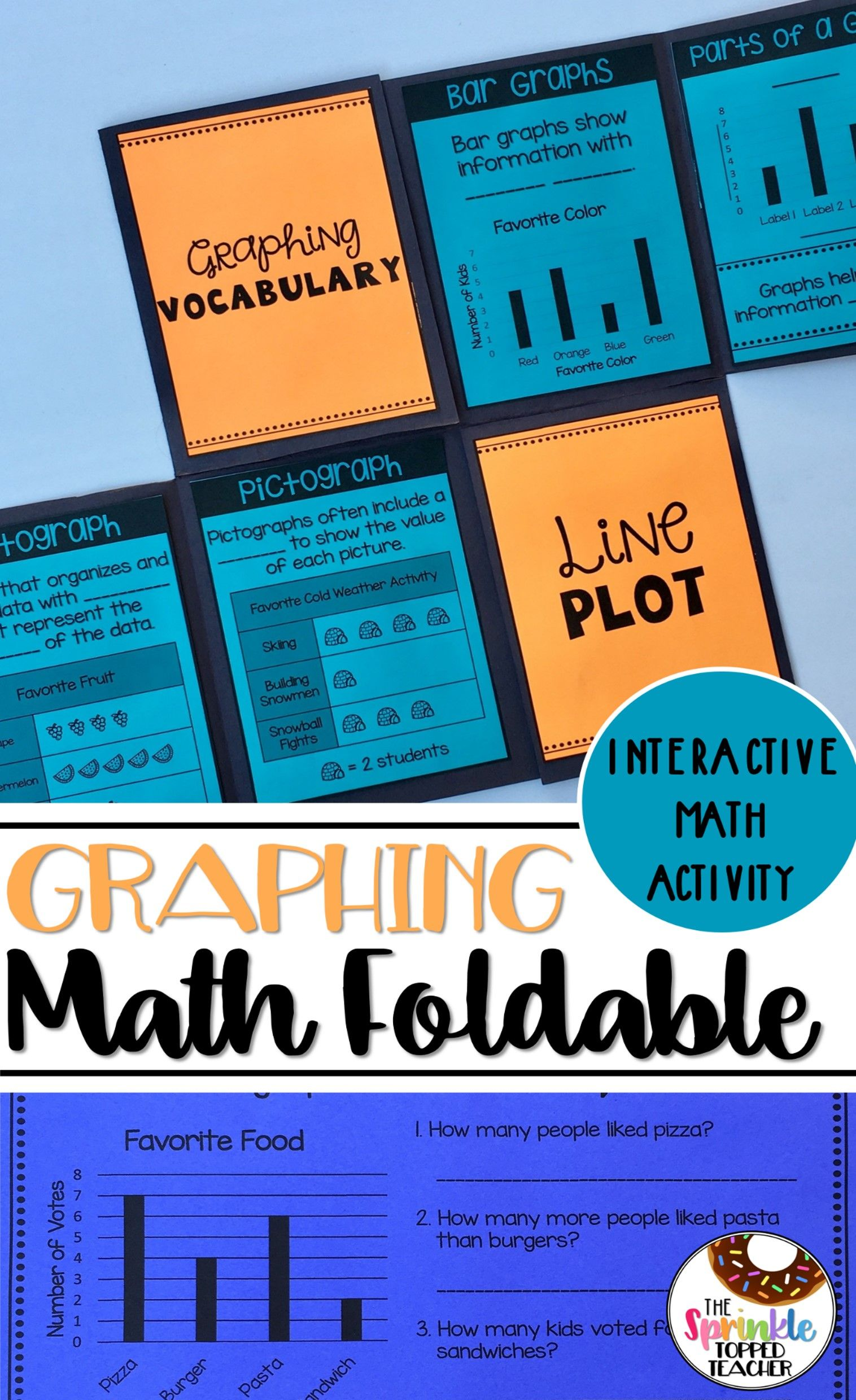 Goofy For Graphing Foldable | Graphing activities, Bar graphs and ...