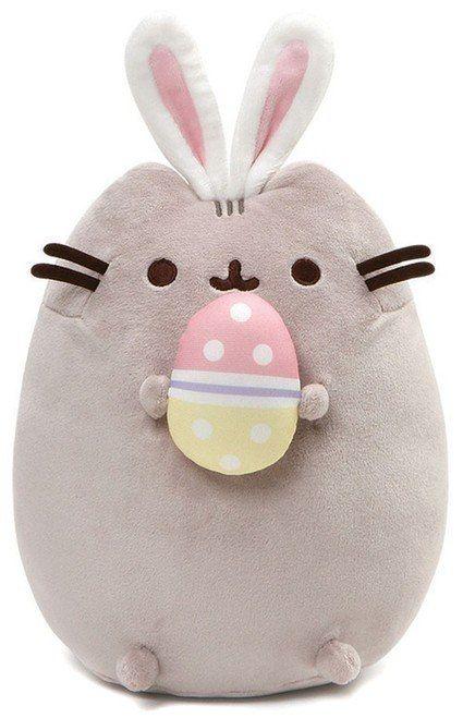"""Pusheen Easter Bunny 10"""" Pusheen plush, Pusheen stuffed"""